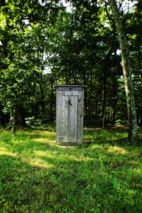 outhouse, in case you get that need-to-pee feeling