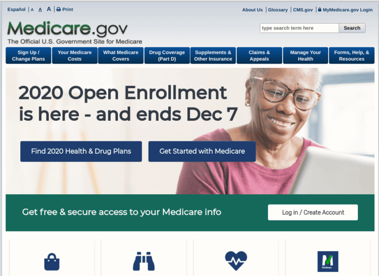Selecting your Medicare drug coverage online